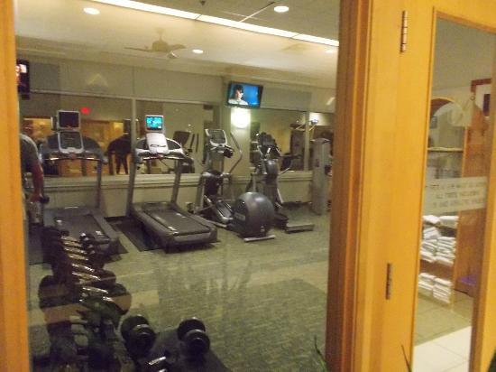 The Fairmont Winnipeg: Gym