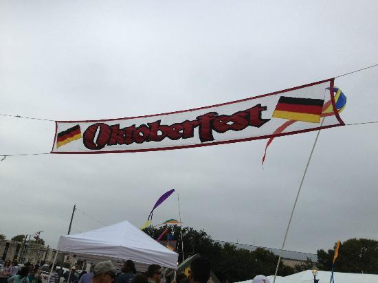 Inn on Barons Creek: Entrance to the Oktoberfest festival!