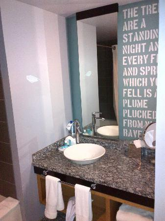 W Boston: Bathroom Sink