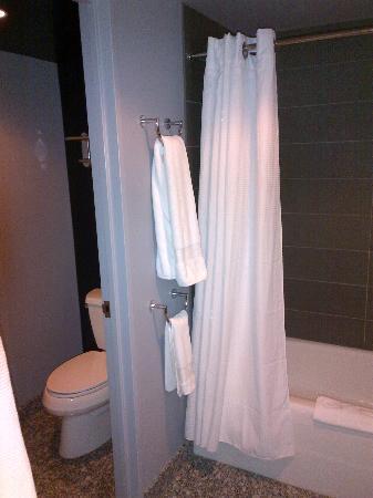 W Boston: Bathroom