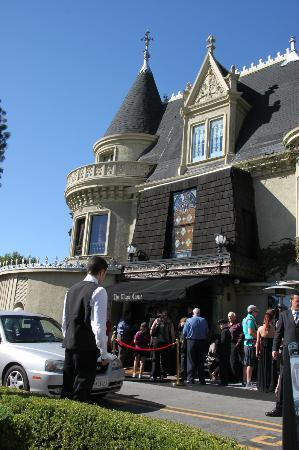 The Magic Castle: The exterior in Hollywood Hills