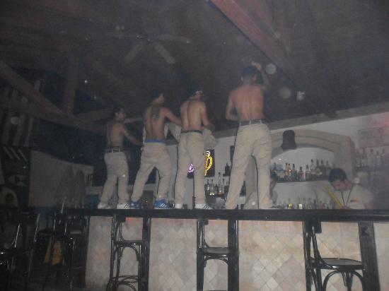Club Anastasia: The Boys on the bar