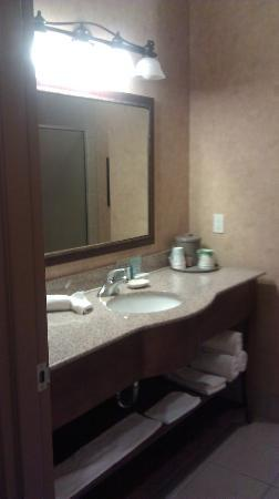Hampton Inn & Suites Stephenville: Bathroom