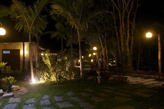Guaramiranga, CE: Vista a noite.