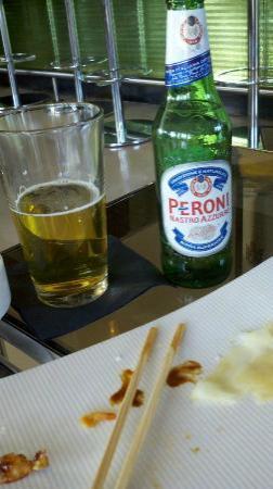 Simon Restaurant & Lounge : sushi gone...