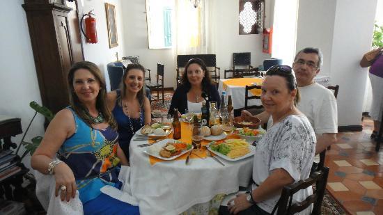 Restaurante Ribamar: vista interna do restaurante