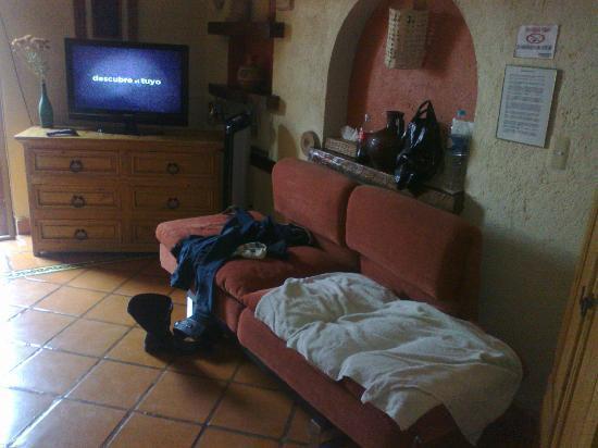 Hospedería del Truco 7: Sofa cama