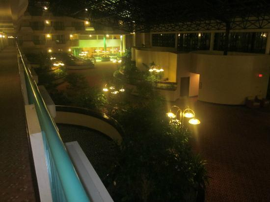 Melville Marriott Long Island: Common Area - Atrium at Night