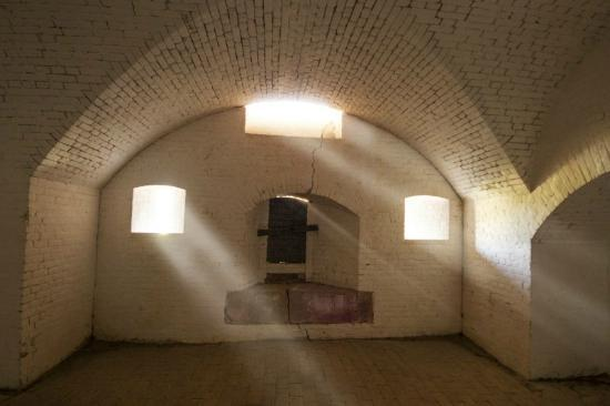 Fort Barrancas: Far right flank room