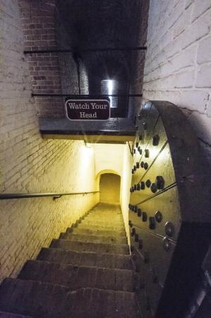 Stairway 1 Fort Barrancas