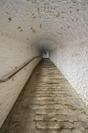 The Spanish hallway up Fort Barrancas