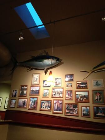 Haley's Sports Bar & Grill: picture wall