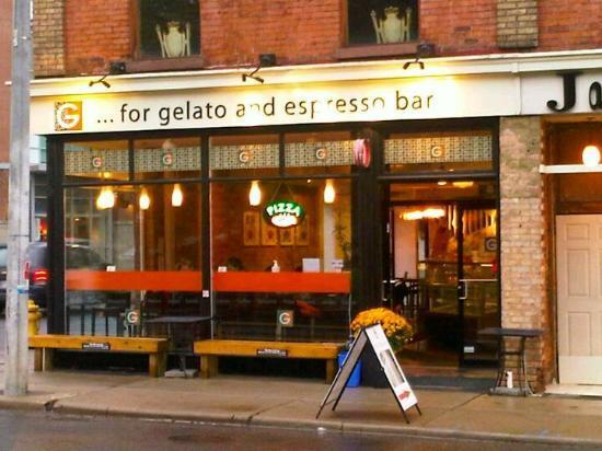 G For Gelato: Jarvis street location