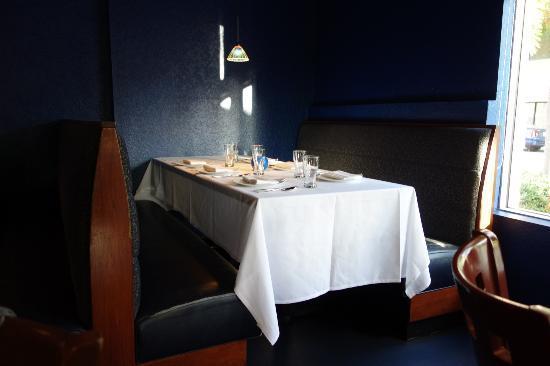 Leila Restaurant: A Nice Corner Table