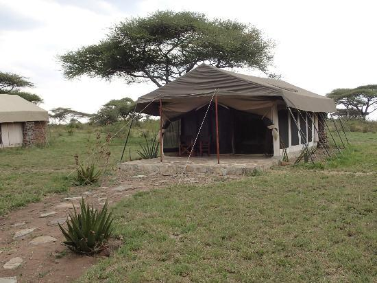 Mapito Tented Camp Serengeti: Our tent