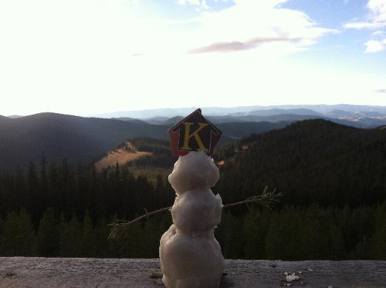 Altoona Ridge Lodge : Prying for snow in October