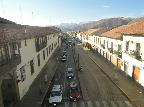 Plaza de Armas Cusco Hotel: Vista desde la habitación