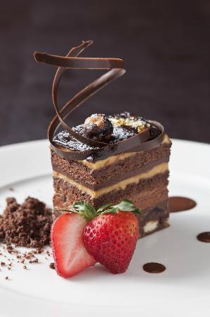 Shore Steak Lounge Terrace 9 Layer Chocolate Cake