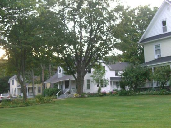 Sunset Lodge B&B: A view of the three main houses