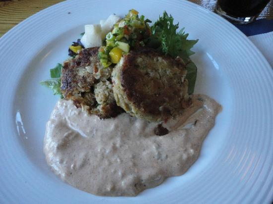 Fishmonger's Cafe: Crab Cakes - Ehh (Read Review)