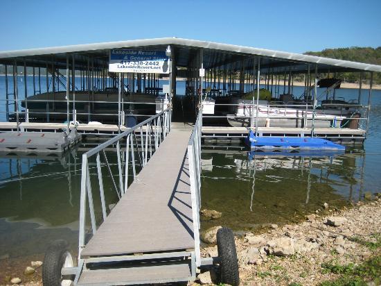 Lakeside Restaurant & General Store: Beautiful Dock