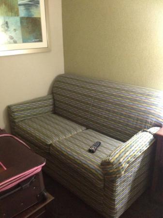 Hampton Inn Los Angeles / Carson / Torrance: Sofabed