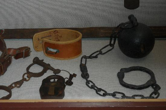 Texas Prison Museum: Restraints