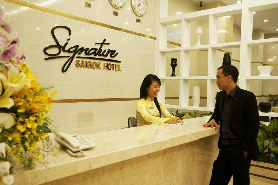 Signature Saigon Hotel : Reception