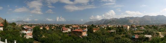 Rocca di Monreale : View from balcony