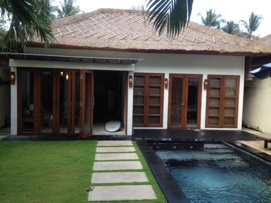 Balibaliku Beach Front Luxury Private Pool Villa: our villa