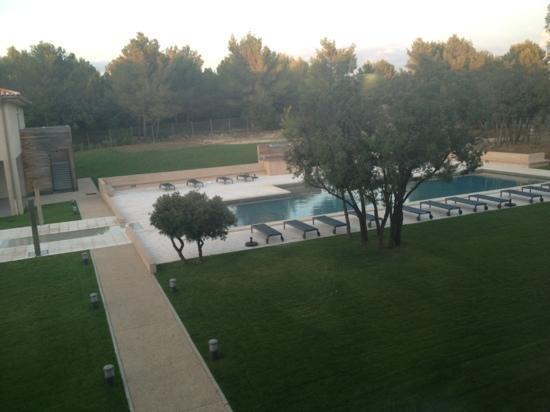 Grand Prix Hôtel : belle piscine