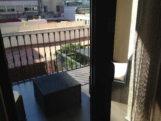 Hotel Constanza Barcelona: Balcony
