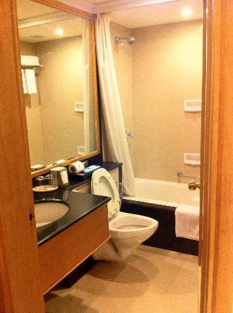 Kenilworth Hotel, Kolkata: Modern Bathroom with complete ammenities