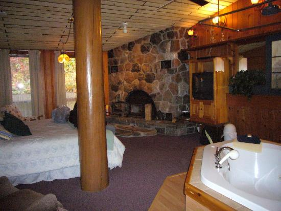 Nordic Inn: View from dinette area