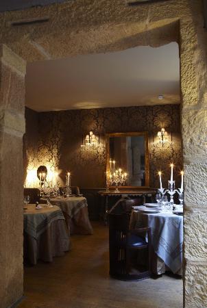 Le restaurant gastronomique Les Loges