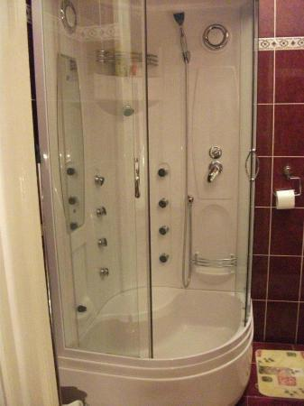 Firstapartments Inn City Center: The shower