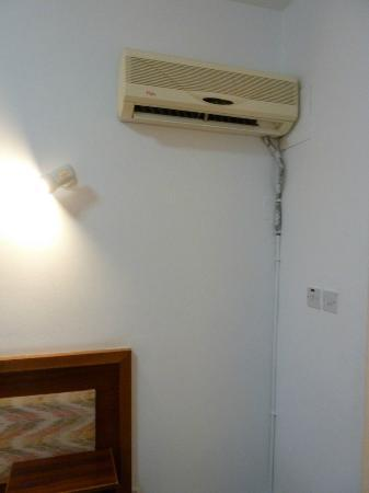 King's Hotel: Air Conditioner that only woprked on full blast cold. Cost an EXTRA 5 EURO a day for A/C
