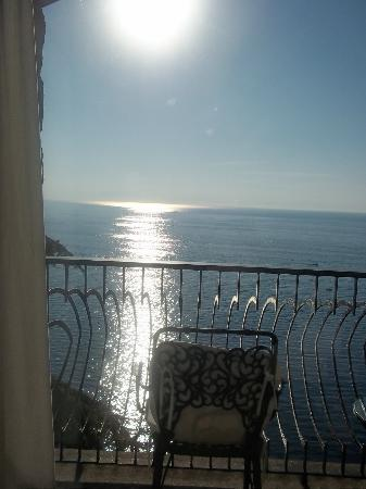 Il Saraceno Grand Hotel: amazing sea-view balcony