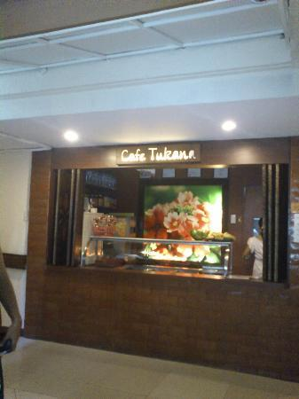 Verbena Pension House: Cafe Tukana