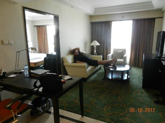 Crowne Plaza Beijing Wangfujing: Sitting room