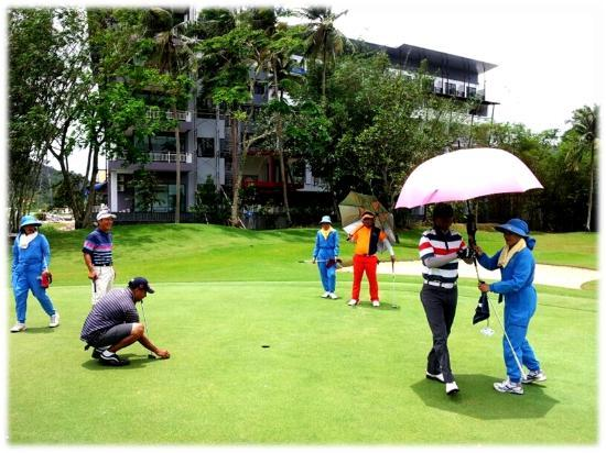 The Par Phuket : Surounded by Glofer are playing glof