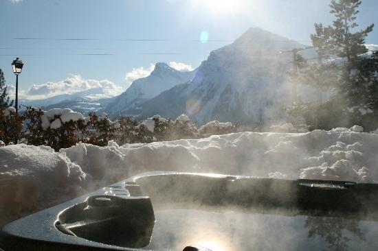 Chalet Calluna : Enjoy the hot tub