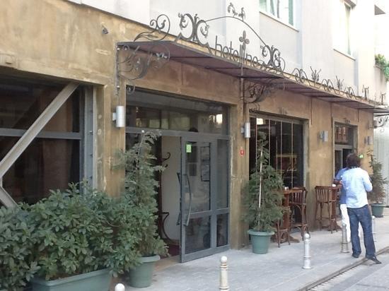 Hotellino Istanbul: Eingang