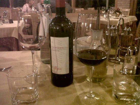 Trattoria El Brol : Ottimi vini!