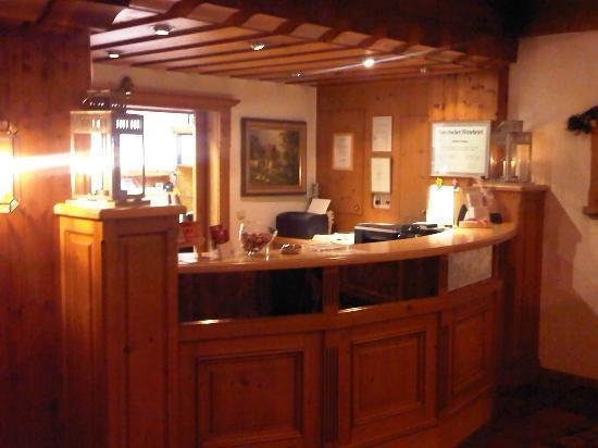 Landgasthof & Hotel Forstwirt: reception