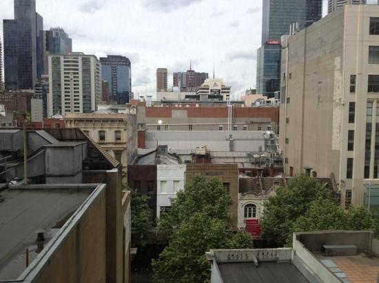 Mercure Welcome Melbourne: View from room on level 7