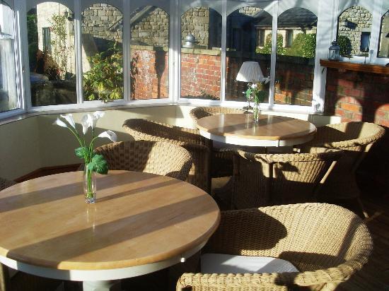 Widbrook Grange: conservatory