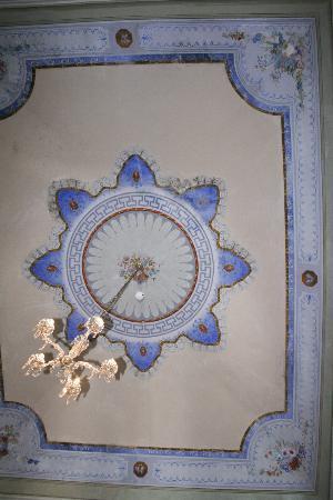 Grand Hotel Reale: fresque au plafond