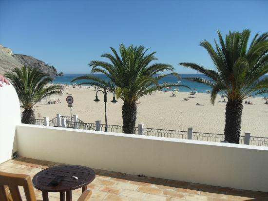 Luz Beach Apartments: view from deck