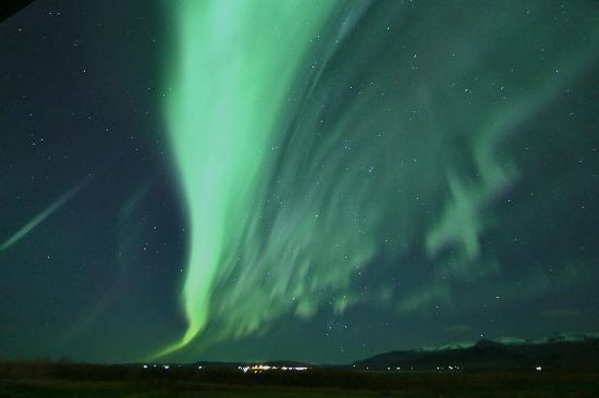 آيسلاندير هوتل هامار: The Dancing Lights from Hotel Hamar 